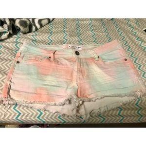 Bullhead Denim Shorts Pastel Jean Medium Size 9